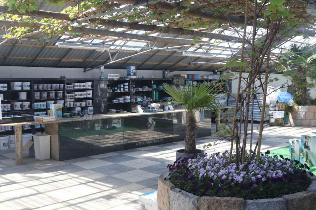Teknisk Afdeling i Super Koi Havedamscenter